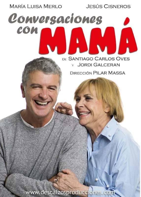 Cartel promocional Conversaciones con mamá