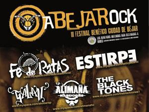 Cartel Abejarock 2011, Béjar