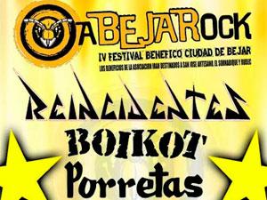 Cartel IV Festival de Rock Abejarock