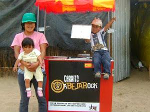 Carrito Abejarock en Peru