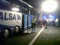 Accidente Alsa, Béjar. Mayo 2011