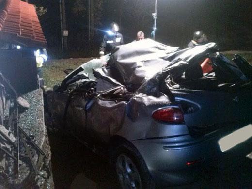 Foto accidente Vistahermosa, Béjar. Marzo de 2013
