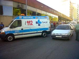 ´Miembros del 112 en el lugar del accidente.</body></html>
