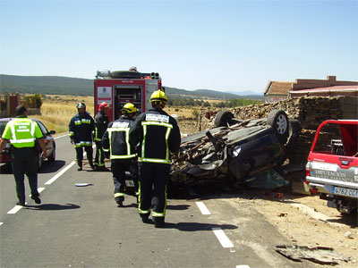 Accidente Carretera Guijuelo - Linares de RioFrío