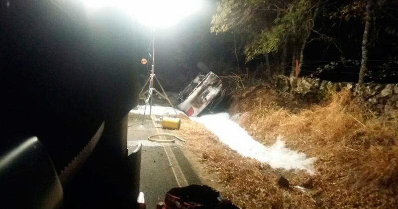 Accidente en la SA220 km cuatro un fallecido