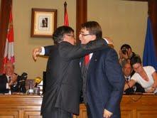 Alejo Riñones y Cipriano González