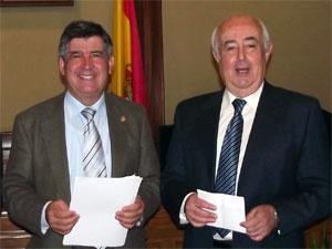 Alejo Riñones y Manuel Bruno