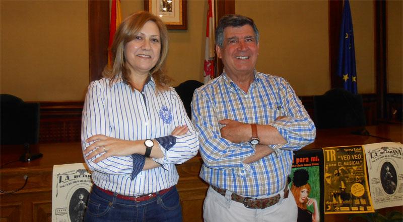 Purificacion pozo y Alejo Riñones