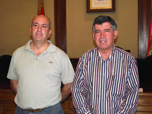 Alejo Riñones y Santiago Yuste