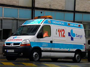 Ambulancia Emergencias 112 Béjar