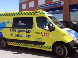 Ambulancia Emergencias 112 Castilla y León