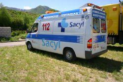 Ambulancia del Servicio de Emergencias 112