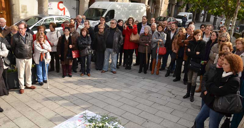Acto contra la violencia de genero AMDEVE
