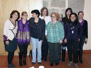 Mujeres pertenecientes al colectivo de Amdeve