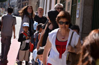 Llegada de niños Saharauis a Béjar