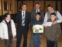 Ganadores Concurso Dibujo Infantil, Béjar