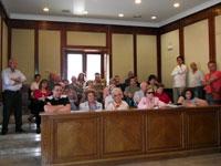 Reunión ARCH. Vecinos y ayuntamiento de Béjar