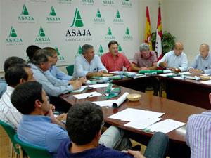 Reunión de Asaja Castilla y León