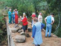 ASAM. Reparación de puente en Valero