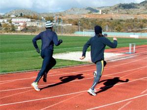 Entrenamiento en las Pistas de Palomares de Béjar (Foto: Flickr Clubatletismo)