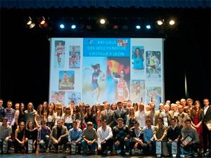 Premiados en la Gala del Atletismo de Castilla y León 2011