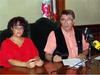 Blanca Cerrudo y Cipriano González