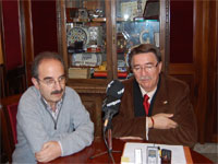 Cipriano González y Juan Tomás Sánchez