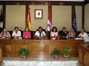 Concejales del PP en el Ayuntamiento de Béjar