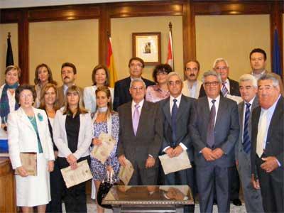 Entrega de la Medalla de la Ciudad de Béjar a Carbonica Molina