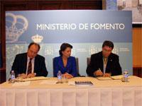 Firma convenio Rehabilitación Torreón de Béjar