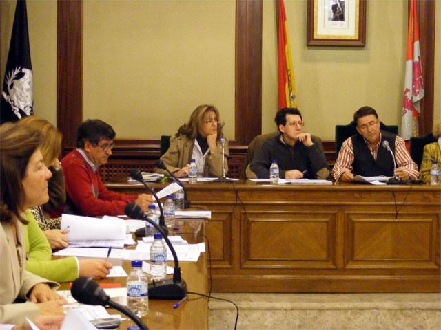 Pleno Ayuntamiento de Béjar, Noviembre 2008