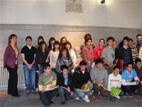 Escolares bejaranos en el Ayuntamiento de Béjar