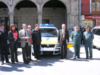 Entrega de Vehiculo para realizar controles de alcoholemia en Béjar