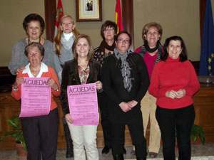 Presentación Día de Las Águedas en Béjar 2012