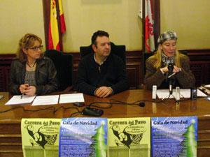 Presentación Carrera del Pavo, Ayuntamiento de Béjar