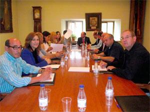 Reunión del equipo de gobierno de Béjar con el presidente de la dipu</body></html>
