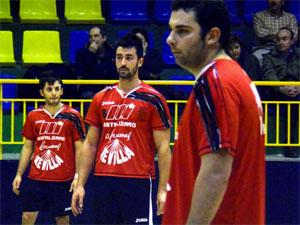 Jugadores del Club Polideportivo Bejarano de Balonmano