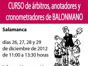 Curso de árbitros de Balonmano, Salamanca