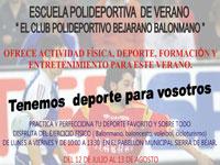 Escuela de Verano del club polideportivo bejarano