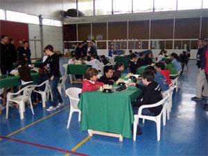 Campeonato de ajedrez en Baños de Montemayor