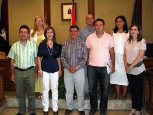 Miembros del Equipo de Gobierno del Partido Popular en Béjar