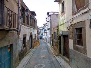 Calle Mateo Hernández, Béjar