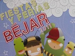 Cartel Fiestas y Ferias Béjar 2011