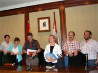 Concejales socialistas del ayuntamiento de Béjar