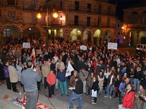 Manifestación por la educación pública, Béjar
