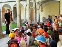 Escolares de Plasencia en su visita a Béjar