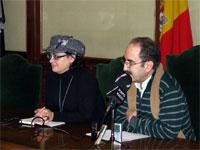 Juan Tomas Snachez y Blanca Cerrudo, Presentación proyectos fondos de inversión local