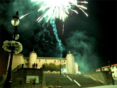 Fuegos Artificiales Fiestas Béjar 2010
