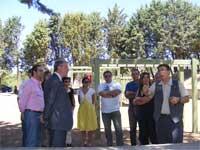 Inauguración parque de los Pinos, Béjar
