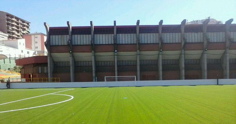 vista parcial del campo de futbol de mario emilio